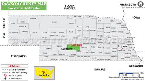 gis dawson county dawson county map nebraska