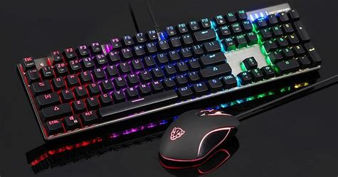 Keyboard Komputer Gaming top pc gaming accessories on gearbest flash sale at low prices