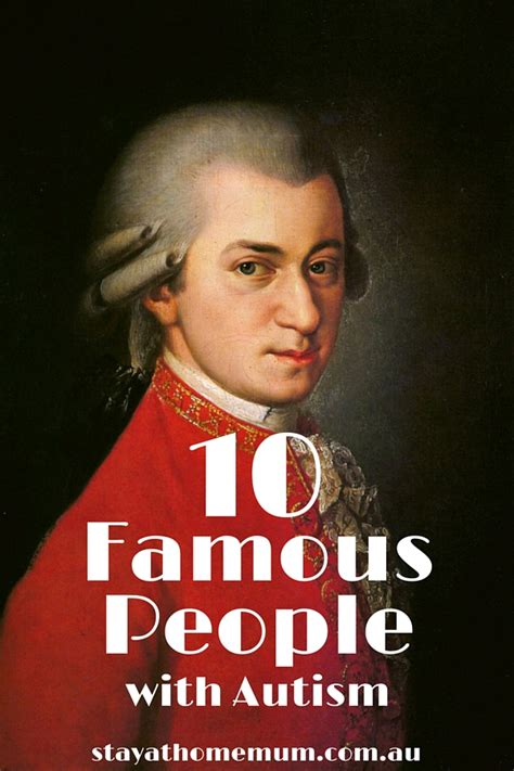 famous people autism 10 famous people with autism stay at home mum