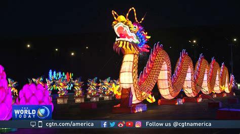new year lantern festival chicago lights lantern festival draws crowds in chicago