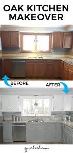 kitchen cabinets makeover ideas our oak kitchen makeover