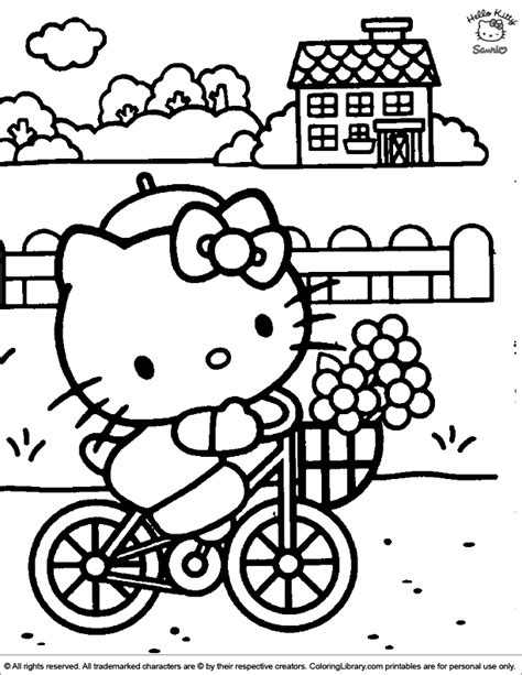 Coloring Pictures Hello Kitty Coloring Picture by Coloring Pictures