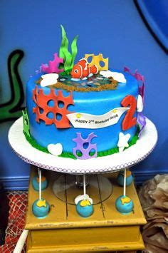 unique finding nemo decorations 14 finding nemo theme cake by s cakes via flickr
