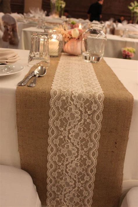 chic rustic burlap  lace wedding ideas deer pearl