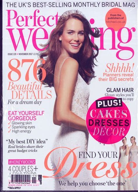 Perfect Wedding Magazine Subscription   Buy at Newsstand