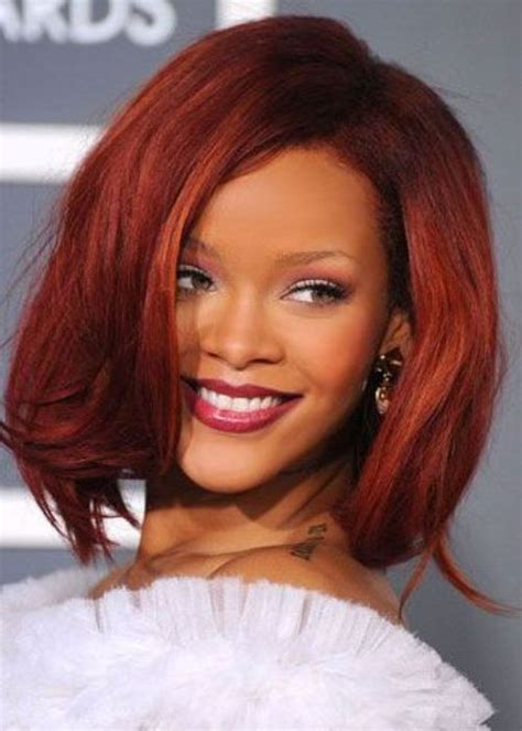 bob hairstyles in red long red bob hairstyles images