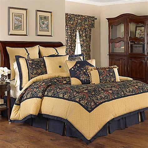 waverly bedding waverly 174 rhapsody reversible comforter set in jewel bed