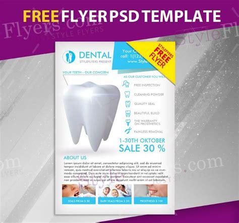 flyer design lab 37 dental flyer templates free premium download