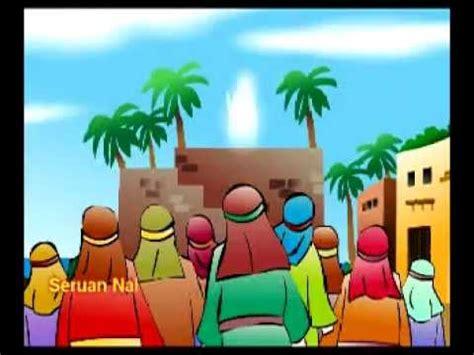 film cerita nabi kartun nasyid kisah nabi yunus ditelan ikan nun youtube