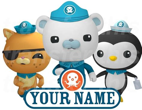 octonauts wall stickers octonauts personalised sticker wall or iron on transfer tshirt name lot op ebay