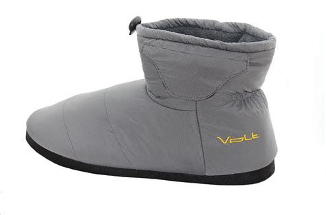 Volt Indoor Outdoor Heated Slippers Gray
