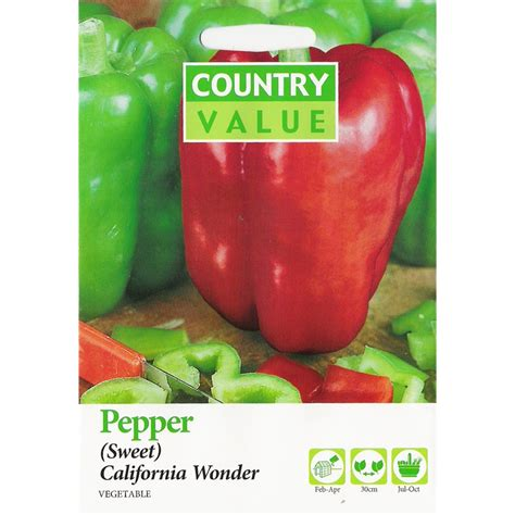 value added product from vegetable bunnings country value country value californian wonder