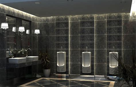 public bathroom design 3d public toilet room