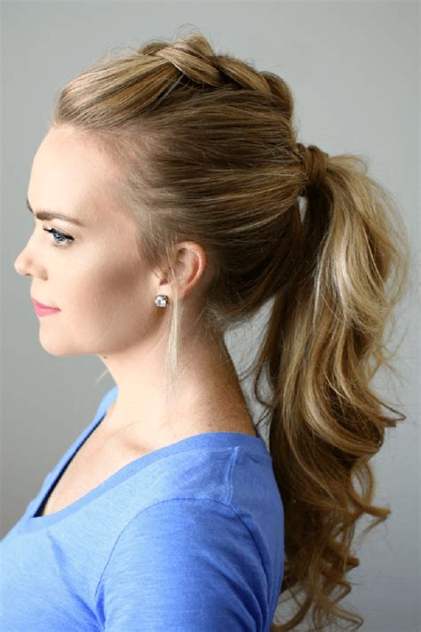 Cool Ponytail Hairstyles by Ponytail Styles For Hair Fashion Trends Social Womens