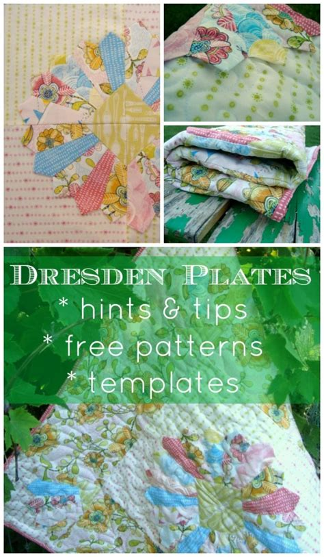 how to make a dresden plate template how to make your own dresden plate templates