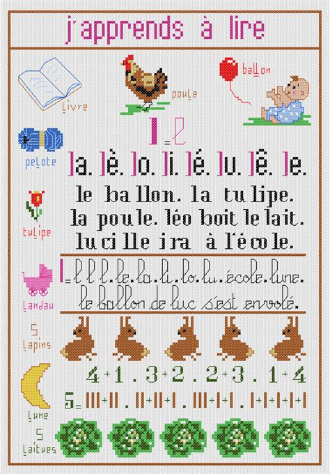 japprends a lire b001j2z5du kit broderie j apprends 224 lire ets anne loison