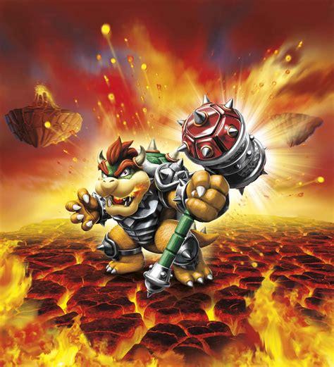 Kaos Mario Bross Mario Artworks 06 skylanders superchargers enlists amiibo crossover bowser
