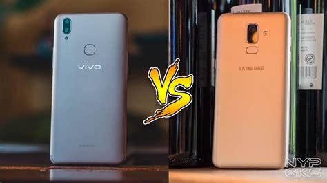 Samsung A10 Vs Vivo 91i by Vivo V9 Vs Samsung Galaxy J8 Specs Comparison Noypigeeks
