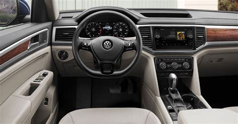 atlas volkswagen interior 2018 volkswagen atlas price release date specs review