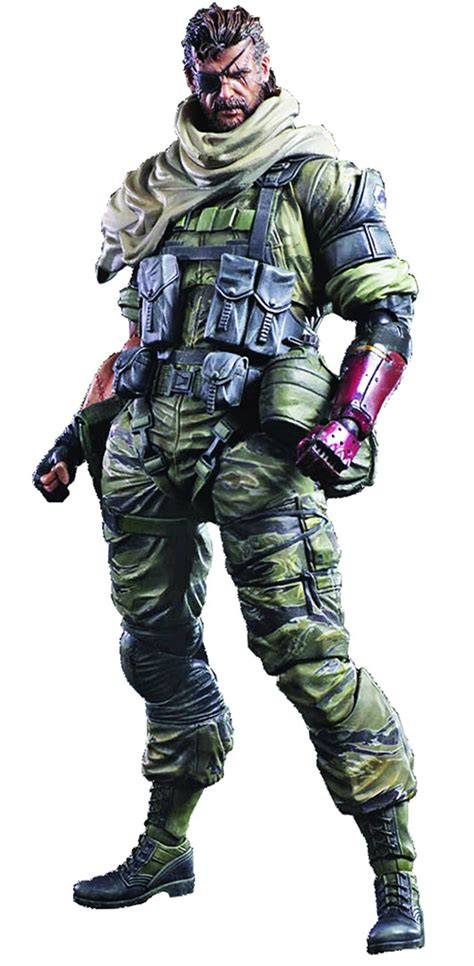 Metal Gear Solid Phantom Venom Snake Play Arts venom snake metal gear solid v phantom