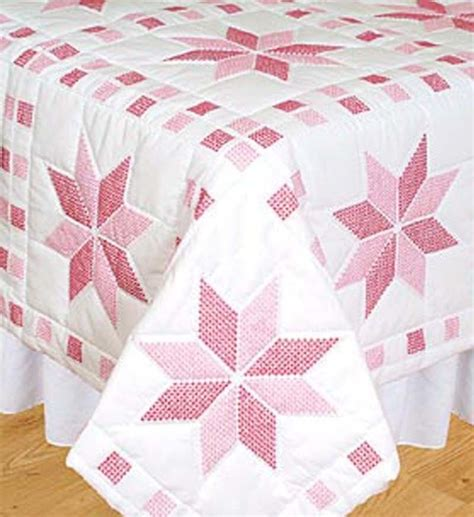 Dempsey Cross Stitch Quilt Blocks by Dempsey Sted Cross Stitch Kit 18 Quot Quilt Blocks