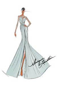 inauguration 2013 designer sketches for the first lady
