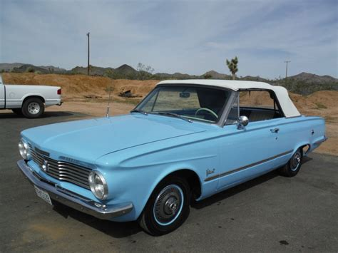 1964 plymouth valiant for sale 1964 plymouth valiant v200 convertible for sale