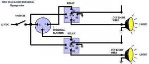 wig wag flasher relay wiring diagrams wig wag relay