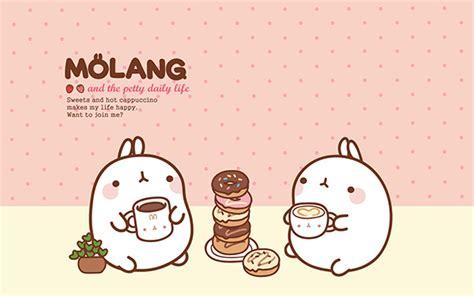 wallpaper cute molang molang desktop wallpaper kao ani com