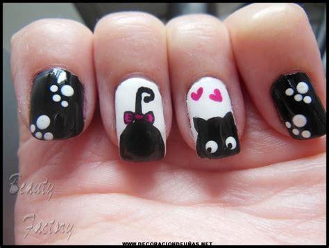 imagenes de uñas decoradas con gatos u 241 as divertidas de gatitos decoraci 243 n de u 241 as te