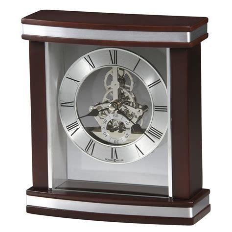 howard miller desk clock howard miller templeton clock with skeleton movement
