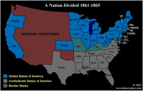 1861 map of united states history with rivera march 2013