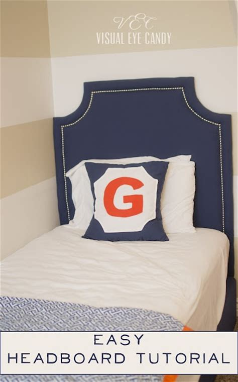 How To Upholster A Headboard by Easy Diy Headboards Make Your Own Headboard