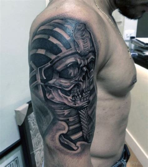 shaded skull tattoo designs 60 king tut designs for ink ideas