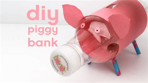 How To Make A Piggy Bank Out Of Paper Mache - adorable piggy bank diy the quench