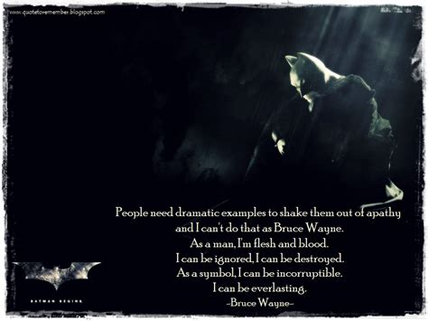 Batman Quotes Bruce Wayne Quotes Quotesgram