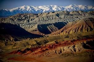 Desert Landscape Plants by Fantastic Landscapes Of Katautau Mountains 183 Kazakhstan