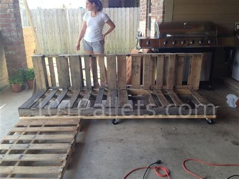 diy pallet sofa instructions pallet sectional sofa tutorial 101 pallets