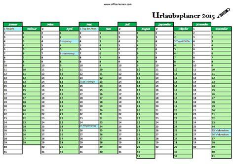 Kostenlose Vorlage Urlaubsplaner 2015 Kostenlose Kalendervorlagen 2015 Office Lernen Seite 2 2