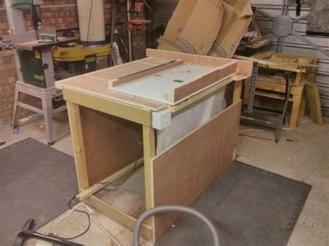 how to build a saw bench diy table saw maker geek