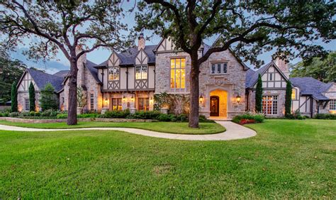 southlake tudor estate traditional exterior dallas