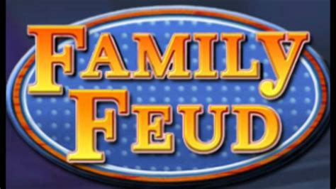 Game Show Music Family Feud Theme Song 1988 1994 And Family Feud