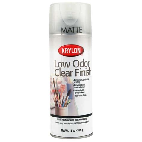 best low odor paint buy krylon 7110 low odor clear gloss 11 oz