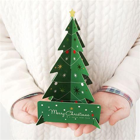 christmas card 3d making aliexpress buy diy 3d cards handmade card postcard greeting