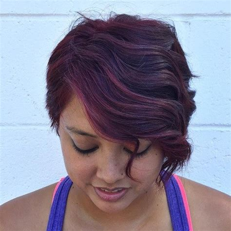 Wavy Hairstyles For Faces by 40 Refreshing Variations Of Bangs For Faces