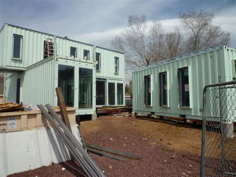 shipping container homes ecosa design studio flagstaff