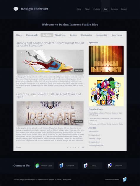 Photoshop Webdesign Wordpress What You Shouldn T Have Missed This Week Djavupixel Com Sleek Website Templates