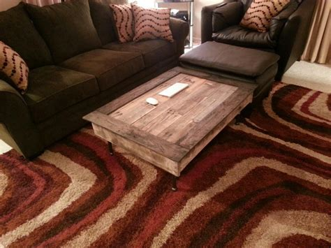 Easy Pallet Coffee Table Make Wood Pallet Coffee Table Sechan