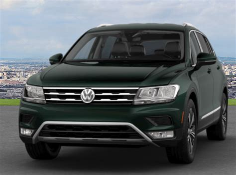 dark green volkswagen exterior color options 2018 volkswagen tiguan