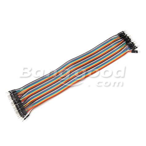 Kabel Jumper Efek Gitar 30cm 2 40st 30cm mannelijk naar mannelijk jumper kabel dupont draad voor arduino aanbiedingen